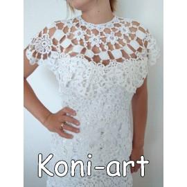 Serweta koronkowa Koni-art 02
