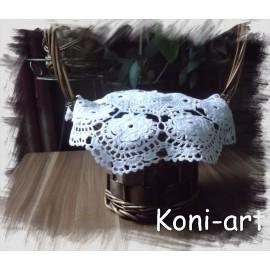 Serwetka na koszyczek wielkanocny Koni-art 003