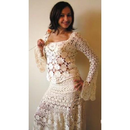 Suknia koronkowa Koni-art 003