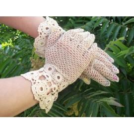 Rękawiczki koronkowe Koni-art004