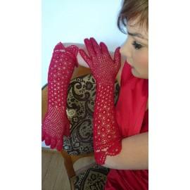 Rękawiczki koronkowe Koni-art 004