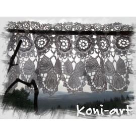 Firanka koronkowa Koni-art 001