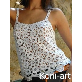 Koszulka koronkowa Koni-art 002