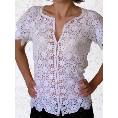 Bluzeczka koronkowa Koni-art 012
